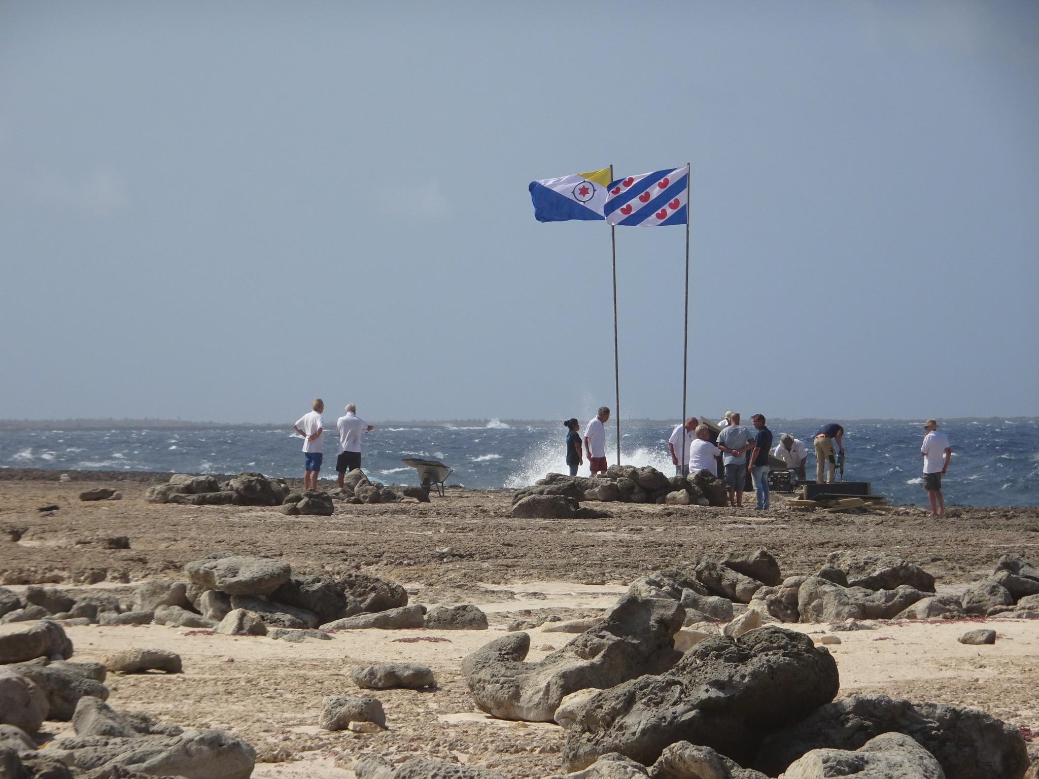 kust en vlaggen
